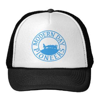 BLUE PIONEER TRUCKER HAT