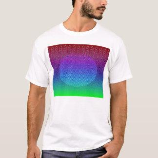 Blue Pixel Sunset #2 (app) T-Shirt
