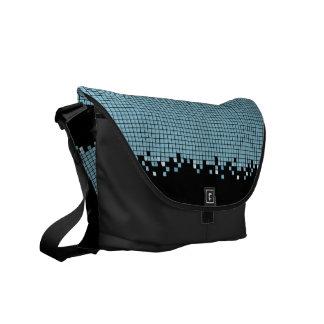 Blue Pixels bag Courier Bags