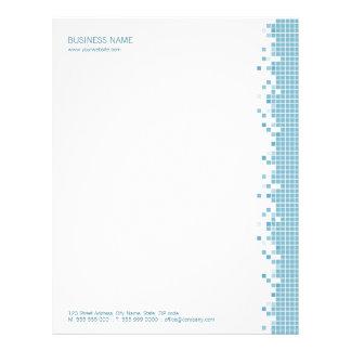 Blue Pixels letterhead