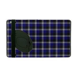 Blue Plaid iPad Folio Case