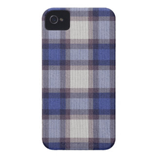 Blue Plaid iPhone 4 Case-Mate Case