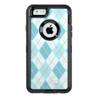 Blue Plaid OtterBox Defender iPhone 6/6s Case