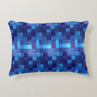 Blue Plaid Pillow