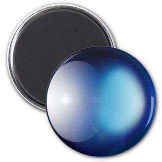 Blue Planet 2 Inch Round Magnet