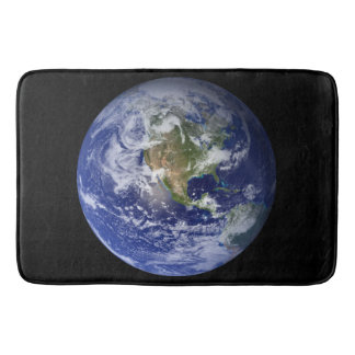 Blue Planet Earth Bath Mat