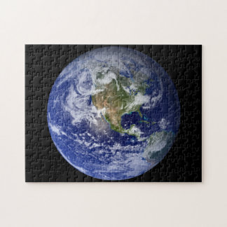 Blue Planet Earth Jigsaw Puzzle