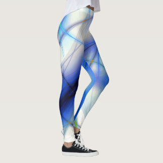 Blue Plasma Leggings