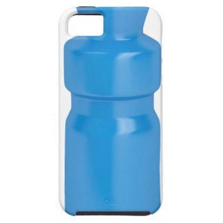 Blue plastic bottle case for the iPhone 5
