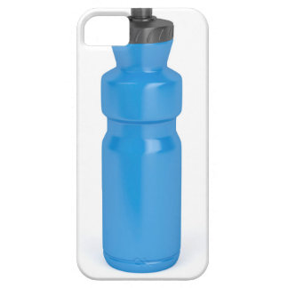 Blue plastic bottle iPhone 5 cover