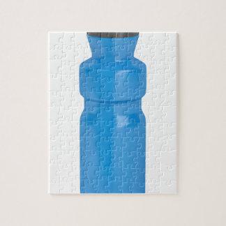 Blue plastic bottle jigsaw puzzle