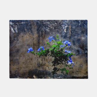 Blue Plumbago Doormat