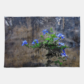 Blue Plumbago Kitchen Towel