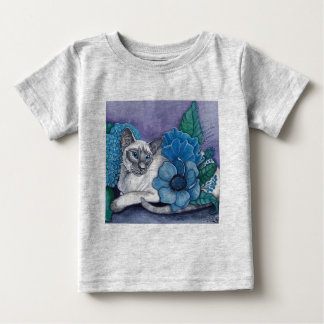 Blue Point Siamese cat Baby T-Shirt