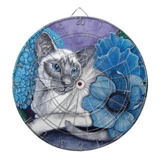 Blue Point Siamese Cat Dartboard
