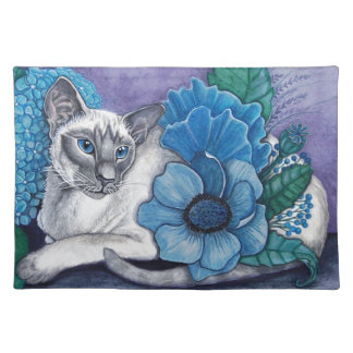 Blue Point Siamese Cat Placemat