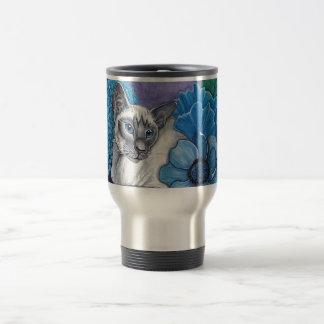 Blue Point Siamese Cat Travel Mug