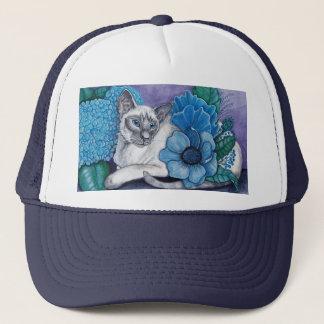 Blue Point Siamese cat Trucker Hat