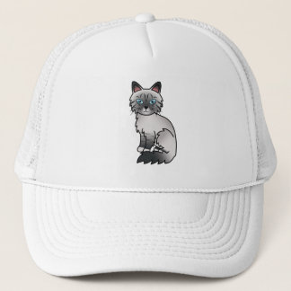Blue Point Tabby Birman / Ragdoll Cat Trucker Hat