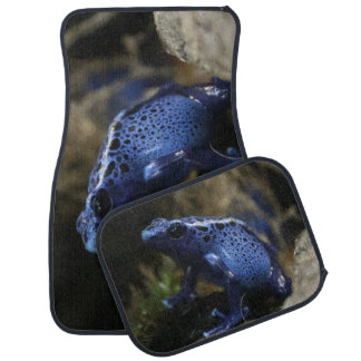 Blue Poison Arrow Frog Car Carpet