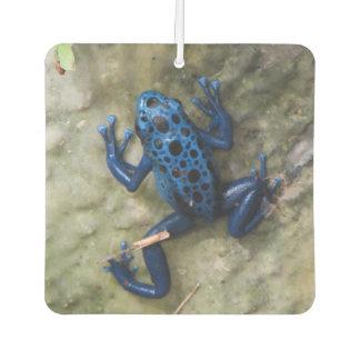 Blue Poison Dart Frog Air Freshener
