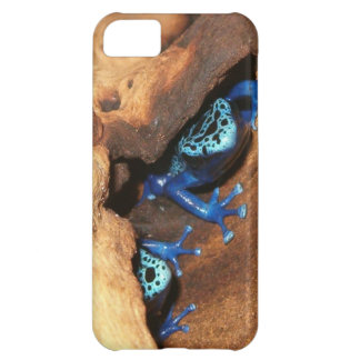 Blue poison dart frogs iPhone 5C case