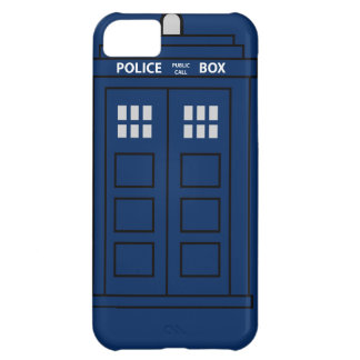 Blue Police Call Box iPhone 5C Covers