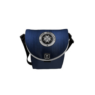Blue Police Call Box Purse Commuter Bags