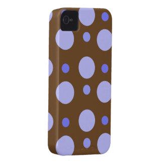 Blue Polka Dot iPhone 4 Case Mate
