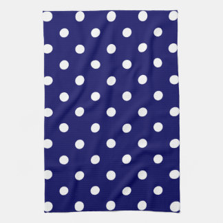 Blue Polka Dot Kitchen Towel