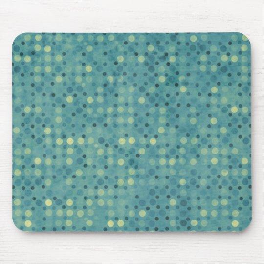 Blue Polka Dot Mousepad
