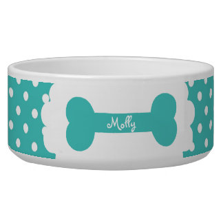 Blue Polka Dot Personalized