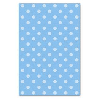 Blue Polka Dot Tissue Paper 2