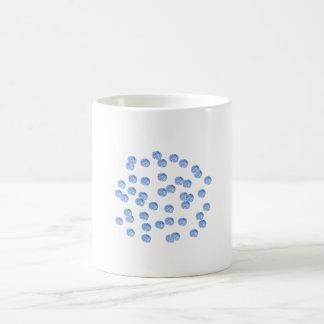 Blue Polka Dots 11 oz Classic Mug