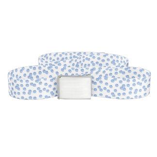 Blue Polka Dots Belt