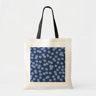 Blue Polka Dots Budget Tote