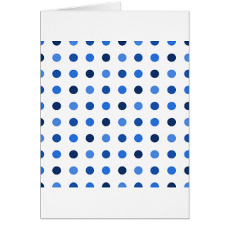 Blue Polka-dots Card