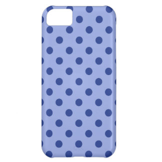 Blue Polka Dots Cover For iPhone 5C