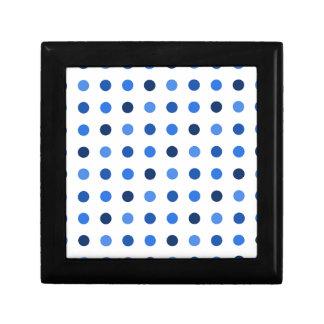 Blue Polka-dots Gift Box