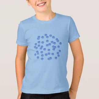 Blue Polka Dots Kids' Jersey T-Shirt