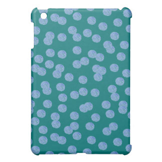 Blue Polka Dots Matte iPad Mini Case