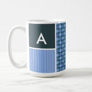 Blue Polka Dots Mug