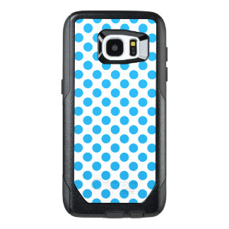 Blue Polka Dots OtterBox Samsung Galaxy S7 Edge Case
