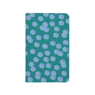 Blue Polka Dots Pocket Journal