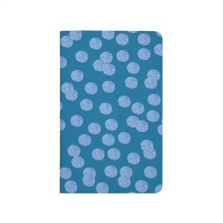 Blue Polka Dots Pocket Journal