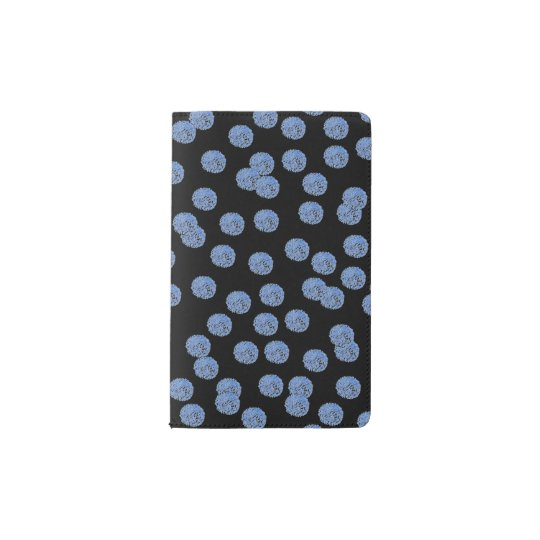 Blue Polka Dots Pocket Notebook