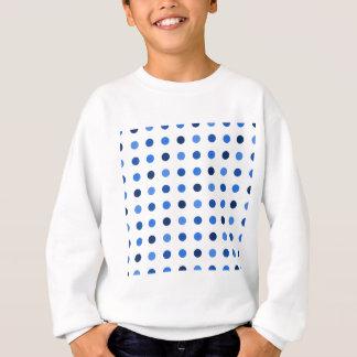 Blue Polka-dots Sweatshirt
