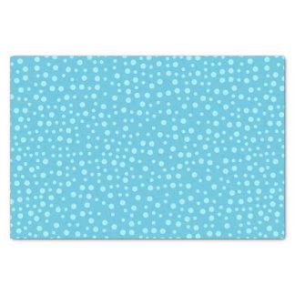Blue Polka Dots Tissue Paper