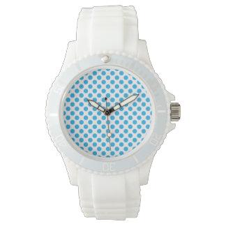Blue Polka Dots Watch