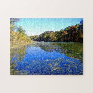 Blue Pond ... calming challenge puzzle